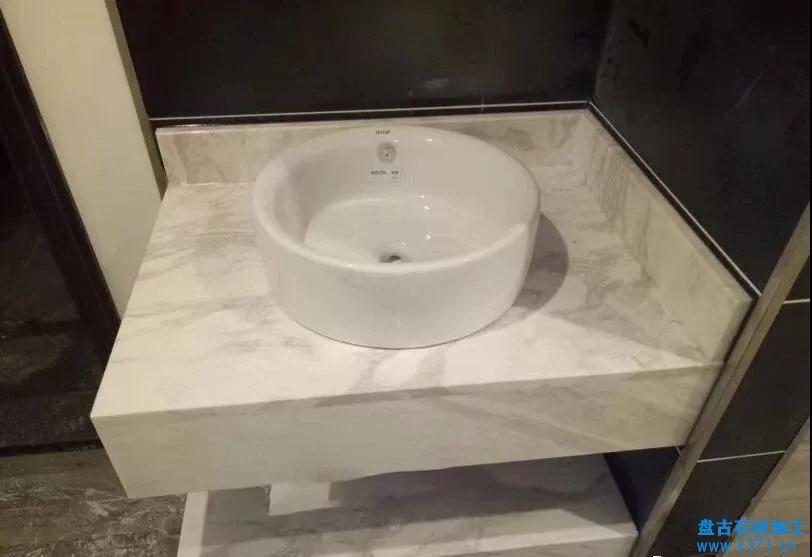 洗手台面石、窗台石、门槛石测量方式